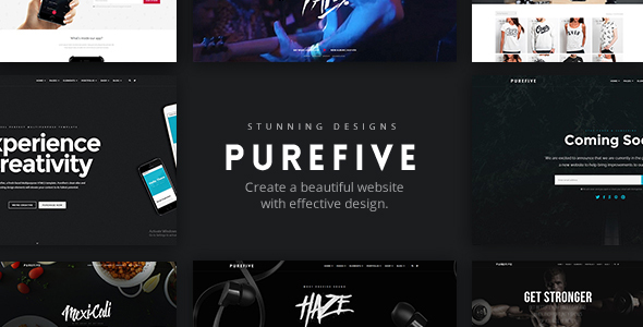 Purefive – Multipurpose WordPress Theme
