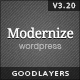 Modernize - Flexibility of WordPress Nulled