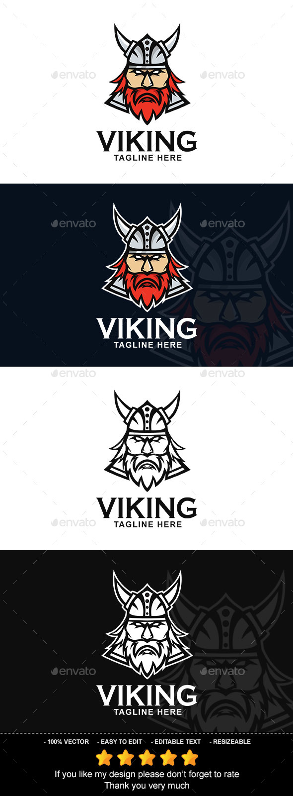 Viking - Vector Abstract