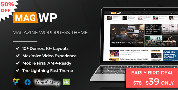 Magazine WordPress Theme | Mag WP