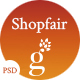 Shopfair - eCommerce PSD Template Nulled