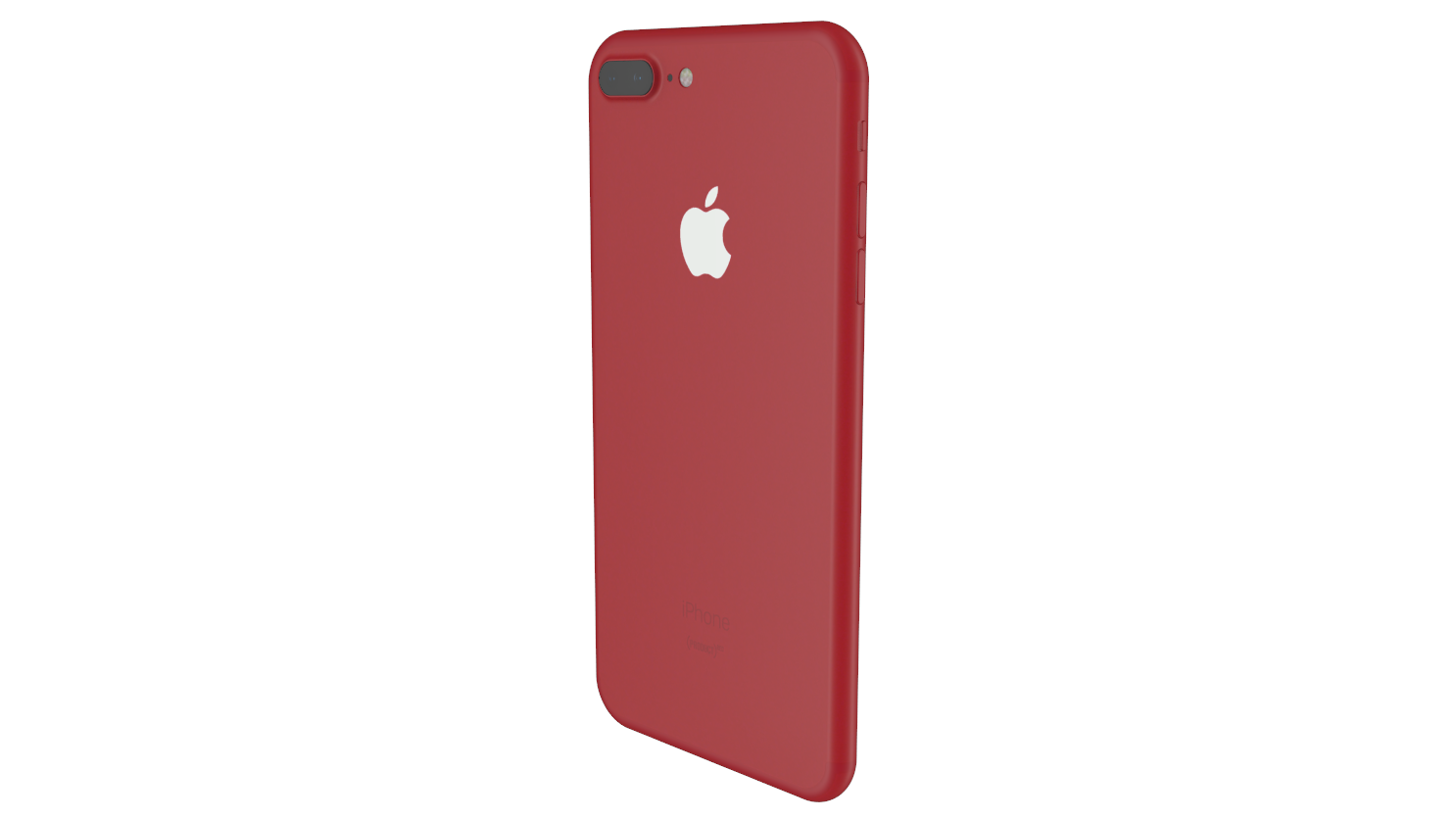 Element3D V2 2 iPhone 7 and 7 Plus Product Red