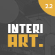 InteriArt - Furniture & Interior WordPress Theme Nulled