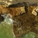 Aerial. Transparent Waters on the Stone Banks of the Sunny Algarve - VideoHive Item for Sale