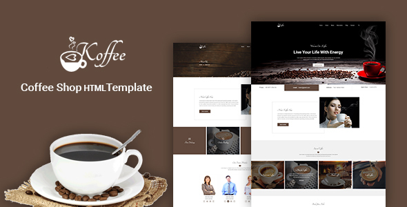 Koffee - Coffee Shop / Cafe / Restaurant HTML Template - Restaurants & Cafes Entertainment