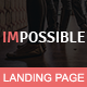 IMPOSSIBLE - Multipurpose Responsive HTML Landing Page Nulled