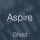 Aspire - News & Magazine Clean Ghost Theme Nulled