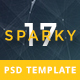 Sparky17-Multipurpose Business Agency/Personal Portfolio PSD Template - ThemeForest Item for Sale