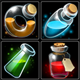 Potion Icons - GraphicRiver Item for Sale