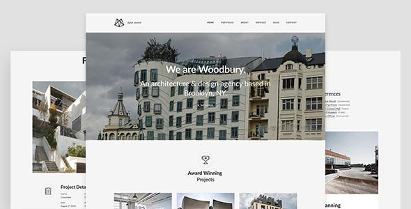 Architects – Minimalist Portfolio Joomla Template