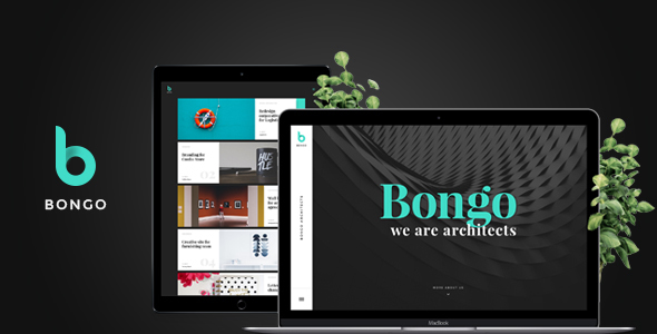 Bongo – Multi Сoncept PSD template for Portfolio