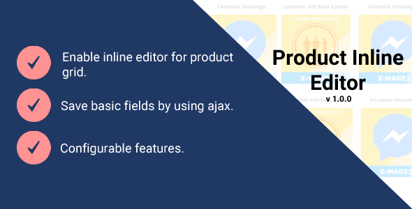 Magento 2 Product Inline Editor - CodeCanyon Item for Sale