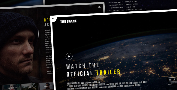 The Space – Single Film Campaign WordPress Theme