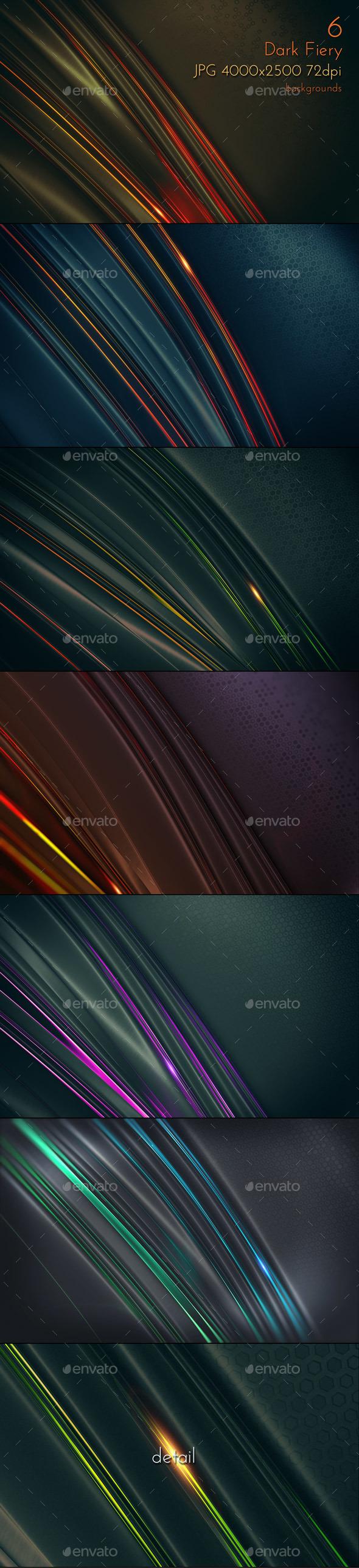 Dark Design Backgrounds - Tech / Futuristic Backgrounds