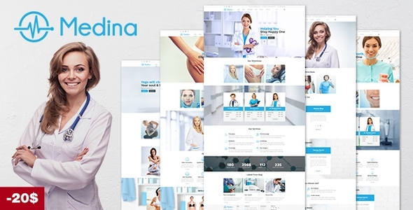 Medical Medina – Medical WordPress