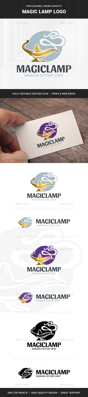Magic Lamp Logo Template - Objects Logo Templates