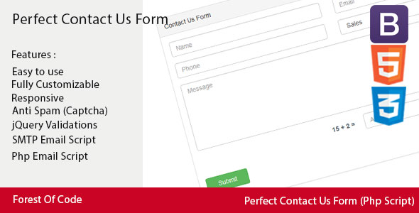PHP Forms from CodeCanyon