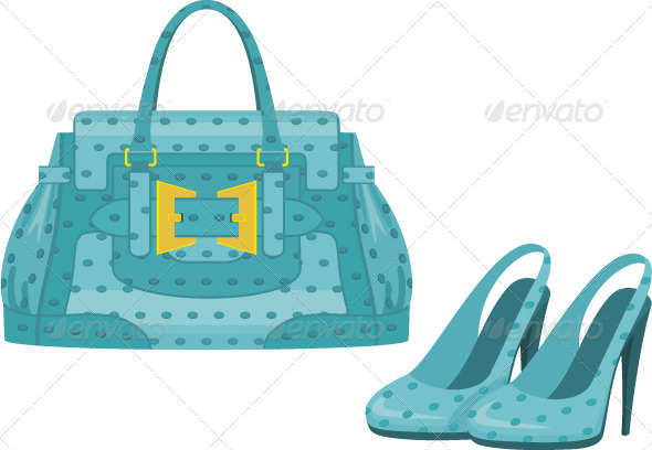 Female bag and shoes - Commercial / Shopping Conceptual