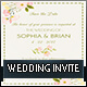 Floral Wedding Invitation Template - GraphicRiver Item for Sale