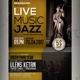 Jazz Live Flyer / Poster - GraphicRiver Item for Sale