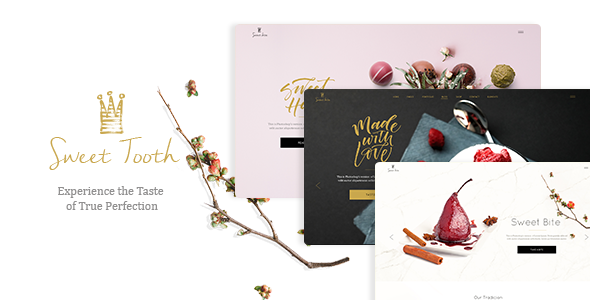 Sweet Tooth – A Delicious Theme for Cake Shops, Confectioneries, and Chocolateries