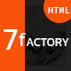 7fACTORY - Industrial, Factory & Manufacturing HTML Template Nulled