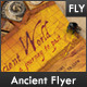Ancient World Flyer - GraphicRiver Item for Sale