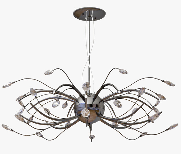 chandelier LIGHTSTAR Isabelle 747167 - 3DOcean Item for Sale