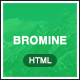 Bromine - Online Learning Platform HTML5 Template - ThemeForest Item for Sale