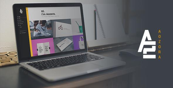 Aozora – Creative Personal & Agency WordPress Theme