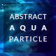 Abstract Aqua Particle - VideoHive Item for Sale