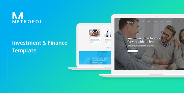Metropol - Investment & Finance HTML Template - Corporate Site Templates