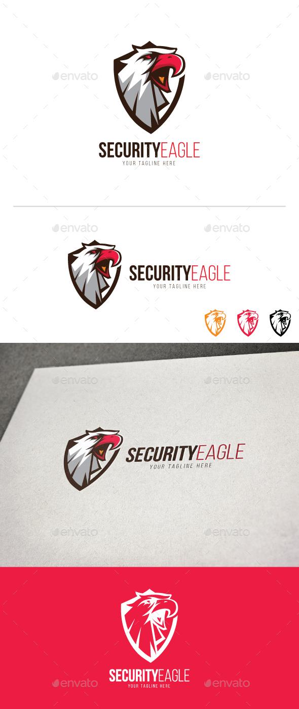Security Eagle - Animals Logo Templates