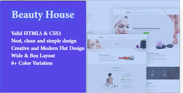 Beauty House | Beauty and Health HTML Template