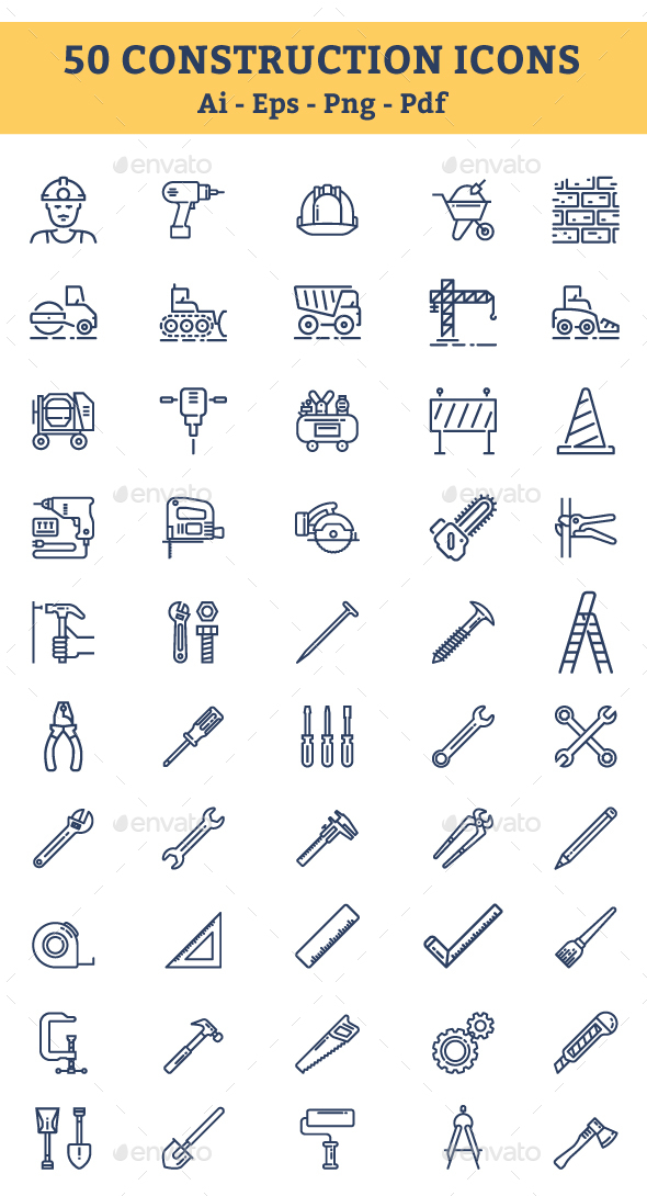 Construction Icons - Icons