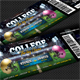 American Football Event Ticket - GraphicRiver Item for Sale