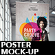 Realistic Poster Mock-up - GraphicRiver Item for Sale
