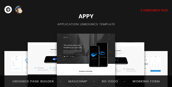 Appy - Unbounce Landing Page - Unbounce Landing Pages Marketing