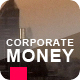 Corporate Money - Cash Flying Between Skyscrapers - VideoHive Item for Sale