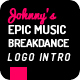 Epic Music Notes Breakdance Intro - VideoHive Item for Sale
