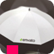 Be Unique Logo Reveal - Umbrellas - VideoHive Item for Sale