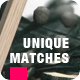 Be Unique Logo Reveal - Matches - VideoHive Item for Sale