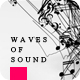Waves of Sound Musical Intro - VideoHive Item for Sale