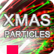 Christmas Particles - Holiday Glitch Reveal - VideoHive Item for Sale