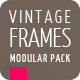 Slideshow Glossy Gold Vintage Frames - VideoHive Item for Sale