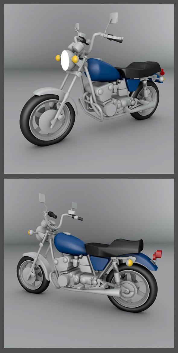 Yamaha Honda 1979 - 3DOcean Item for Sale