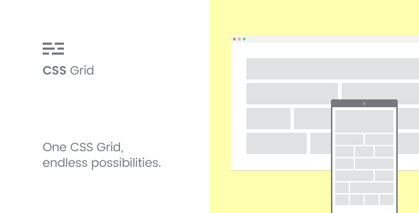Responsive HTML5 CSS Grid - CodeCanyon Item for Sale