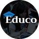 Educo - Elearning, Education Bootstrap Html Template Nulled