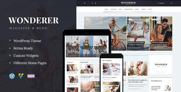 Wonderer | Personal Blog & Review Magazine
