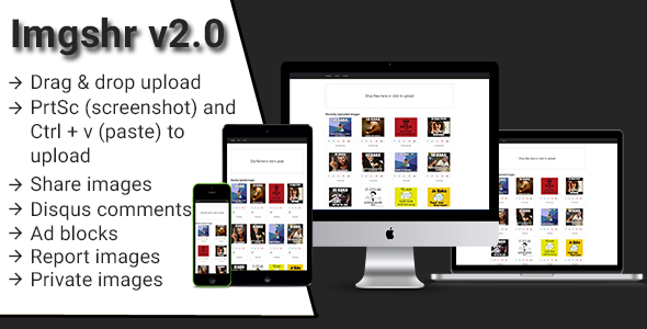 Imgshr v2 - Easy Snapshot, Image Upload & Sharing Script - CodeCanyon Item for Sale